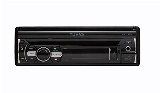 TUVVA KSD7875 In-Dash Car Multimedia Receiver, Bluetooth/ USB/ SD/ CD/ DVD/ AUX/ Rear Camera/ Remote Control/ **No RDS: Amazon.es: Electrónica