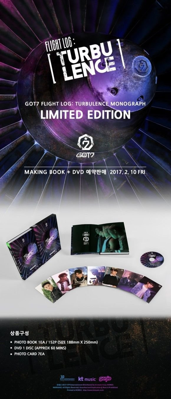 Image result for got7 turbulence monograph