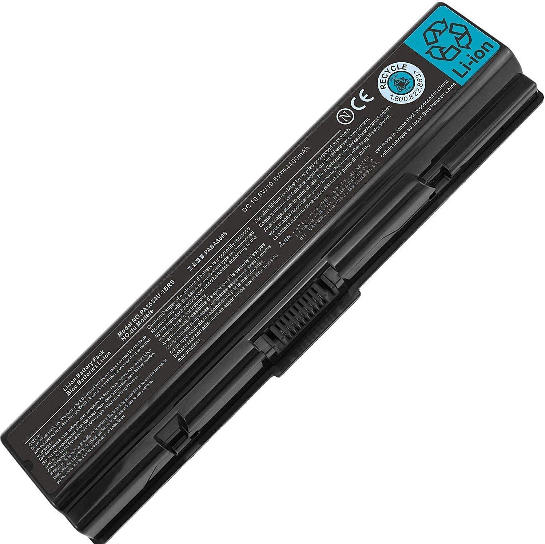 Gomarty PA3534U-1BRS PA3534U-1BAS Battery Compatible for Toshiba Satellite A200 A205 A210 A215 A300 A305 A355D A500 L200 L305 L455 L455D L500 M200 PA3727U-1BRS PA3533U-1BRS PA3535U-1BRS