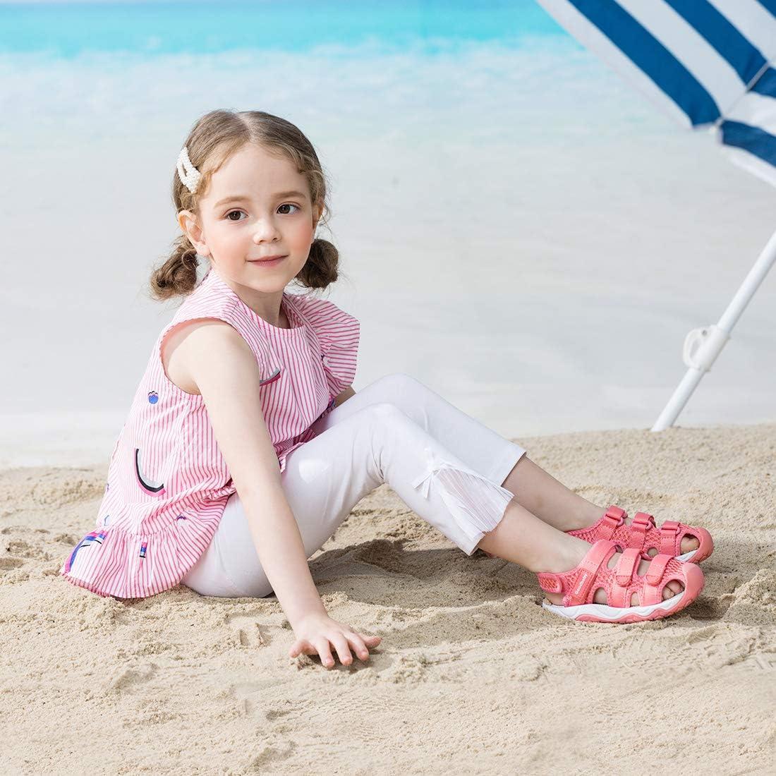 Toddler//Little Kids BMCiTYBM Boys Girls Sport Sandals Closed Toe Water Hiking Beach Outdoor Shoes