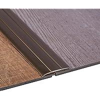 Gedotec Perfil de Transición Aluminio Plano Autoadhesivo Übergangsschiene