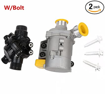 Amazon Com Mostplus New Electric Engine Water Pump And Thermostat