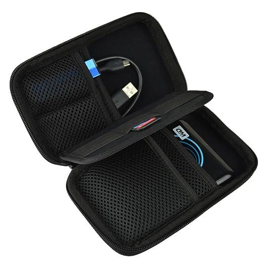 159 opinioni per Estarer Borsa per disco rigido esterno penna USB/scheda SD borsetta Nero