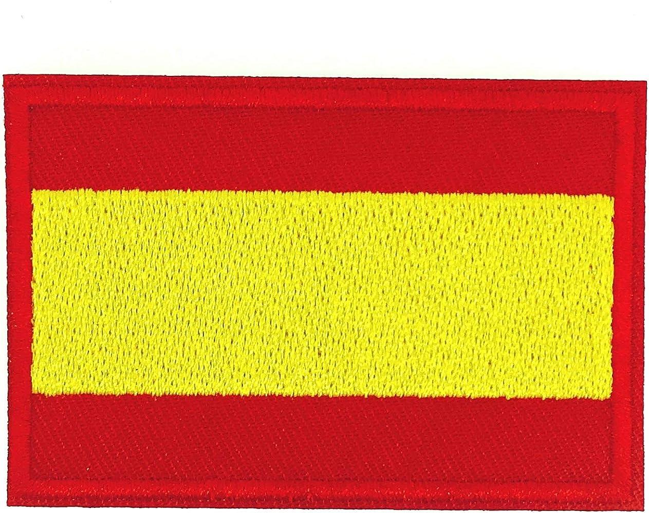 Gemelolandia Parche Termoadhesivo de la Bandera de España 6cm ...