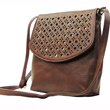 Madame Exclusive Women's Sling Bag (Brown,Me-01Br): Amazon.in ...