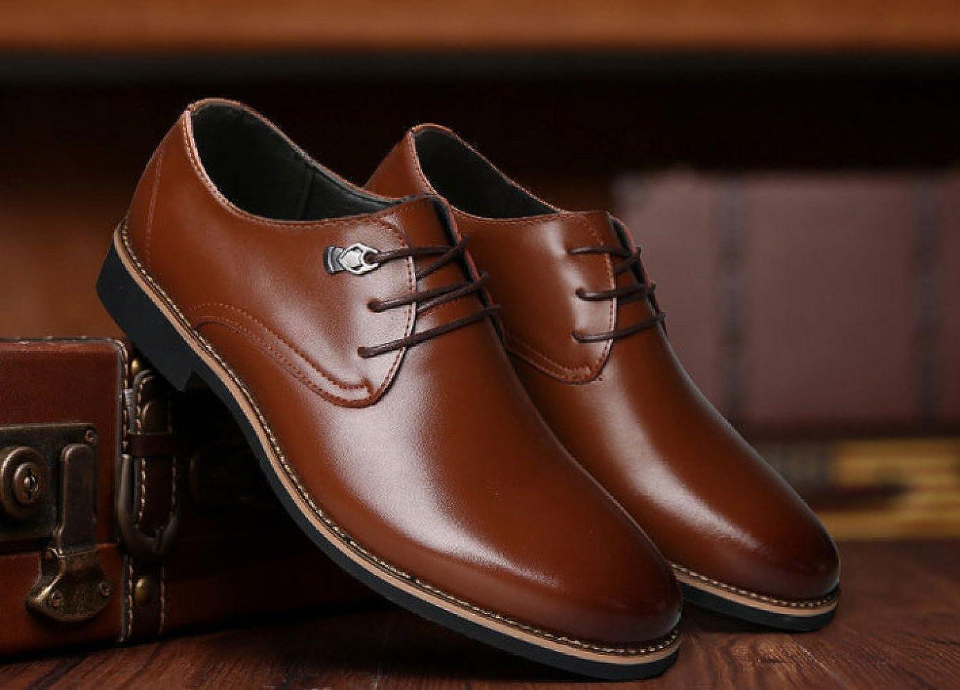 LEDLFIE Herren Lederschuhe Business Lederschuhe Formelle Kleidung Herrenschuhe Casual Casual Casual Wear Schuhe 359f61