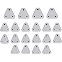 Store2508® Child Proofing Electrical Socket Cover Guards (White). (Pack of 20)