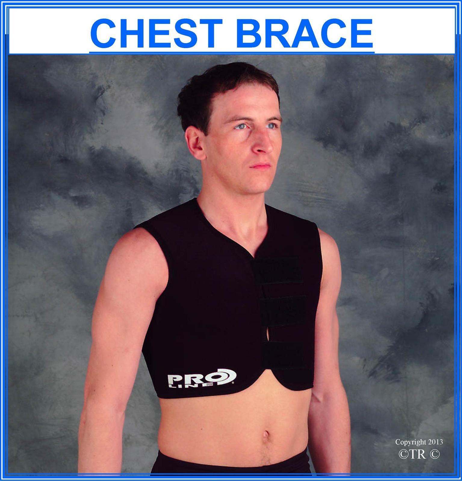 Proline Chest Brace - Black - Small/Medium
