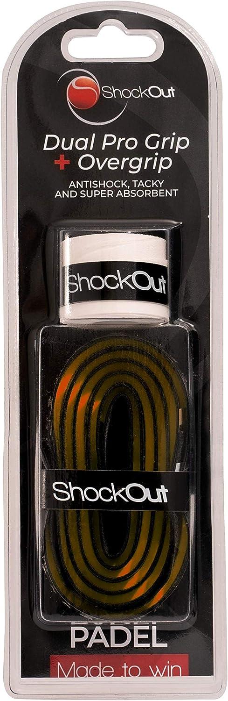 Negro//Naranja Overgrip ShockOut Dual Pro Grip