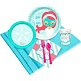 Little Spa Salon Makeover Party Supplies - Value Party Pack