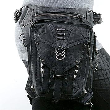 Hommes Imperméable Oxford taille Leg Bag Drop Leg Taille Moto Tactique Sac Pack