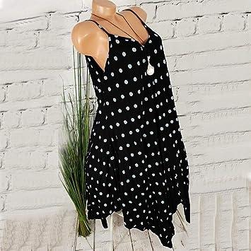 Wave166 Vestidos Cortos Mujer Sexy Mini Vestido Corto de Playa sin ...