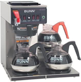 Business & Industrial Coffee, Cocoa & Tea Equipment Bunn Commercial Coffee Maker Vpr Black Series/two Hot Plate/warmers& 3 Carafes