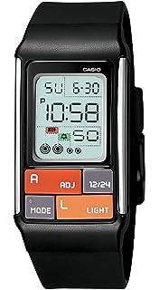 Casio Womens LDF50-1CF Pop Tone Black Digital Watch