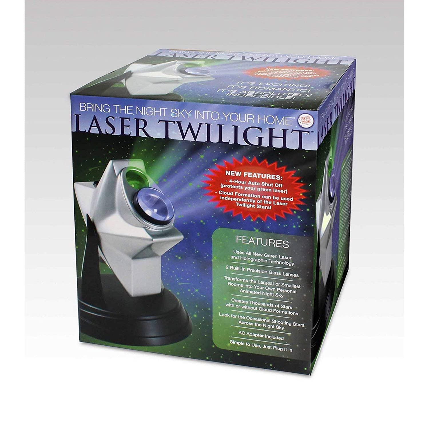 Can You Imagine Laser Twilight Projector Toysmith 51060