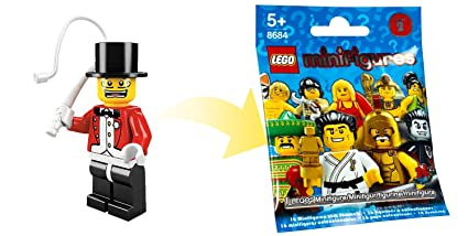 Amazon com: LEGO - Minifigures Series 2 - RINGMASTER: Toys & Games