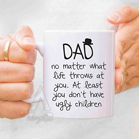 Dad Birthday Gift Fathers Day From Daughter Mugs Mug