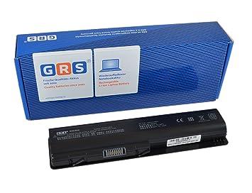 GRS Batería para HP Pavilion dv4 dv5 dv6 COMPAQ Presario CQ40 CQ70 sustituye a: 484170-001 HSTNN-UB72 HSTNN-CB72 484171-001 HSTNN-LB72 485041-003 462890-541 ...