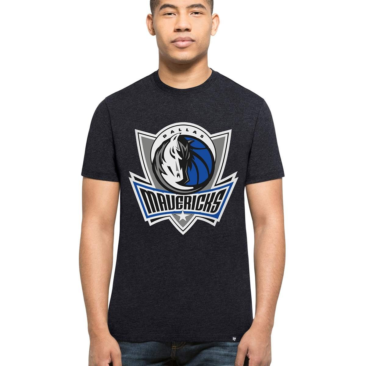 '47 Brand Dallas Mavericks Club NBA T-Shirt Navy '47 Brand
