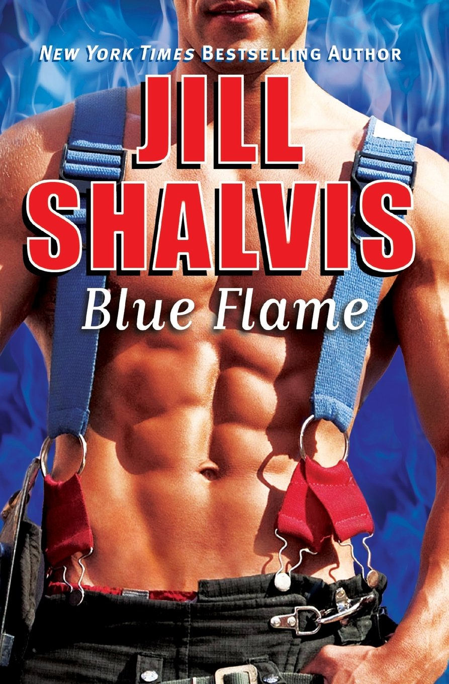 Blue Flame Firefighter Jill Shalvis product image