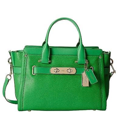 Amazon green satchel