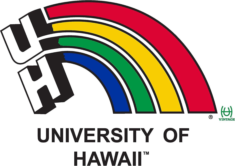 Official NCAA University of Hawaii Rainbow Warriors PPUHAW05 Mens//Womens Boyfriend Sweatshirt