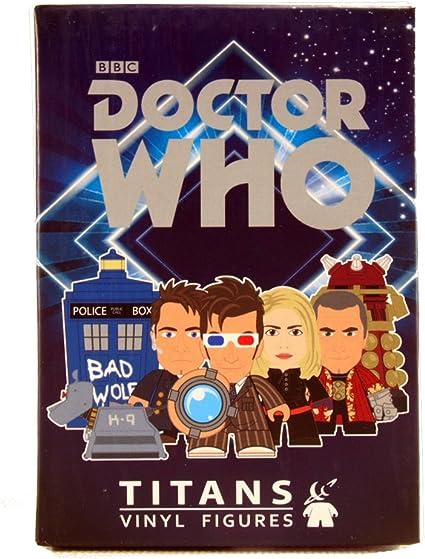 10th Doctor Who Gallifrey Titans Titan Vinyl Blind Box Rose Tyler Figure 2//20