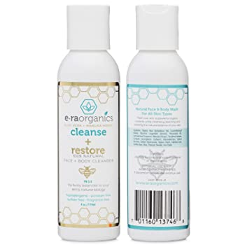 Era Organics Natural Moisturizing Face Wash