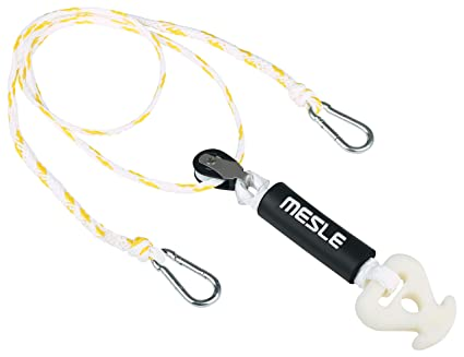 MESLE Tube-Quick-Connector 4 Personen Fun-Tube Towable Rope Zug-Seil Leine gelb