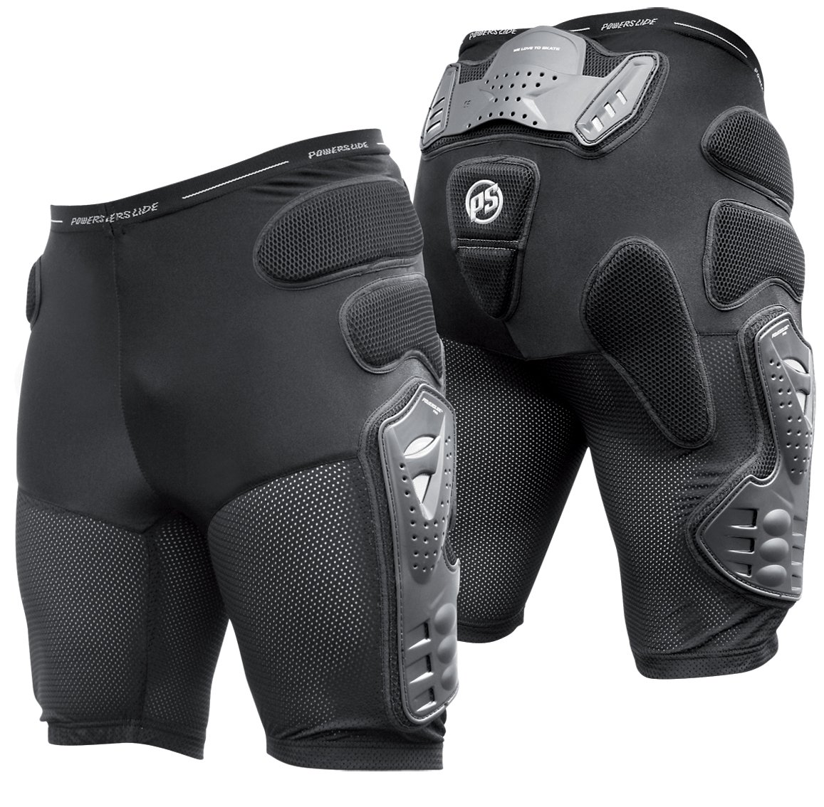 Powerslide Pro Mens Crash - L, Black by Powerslide