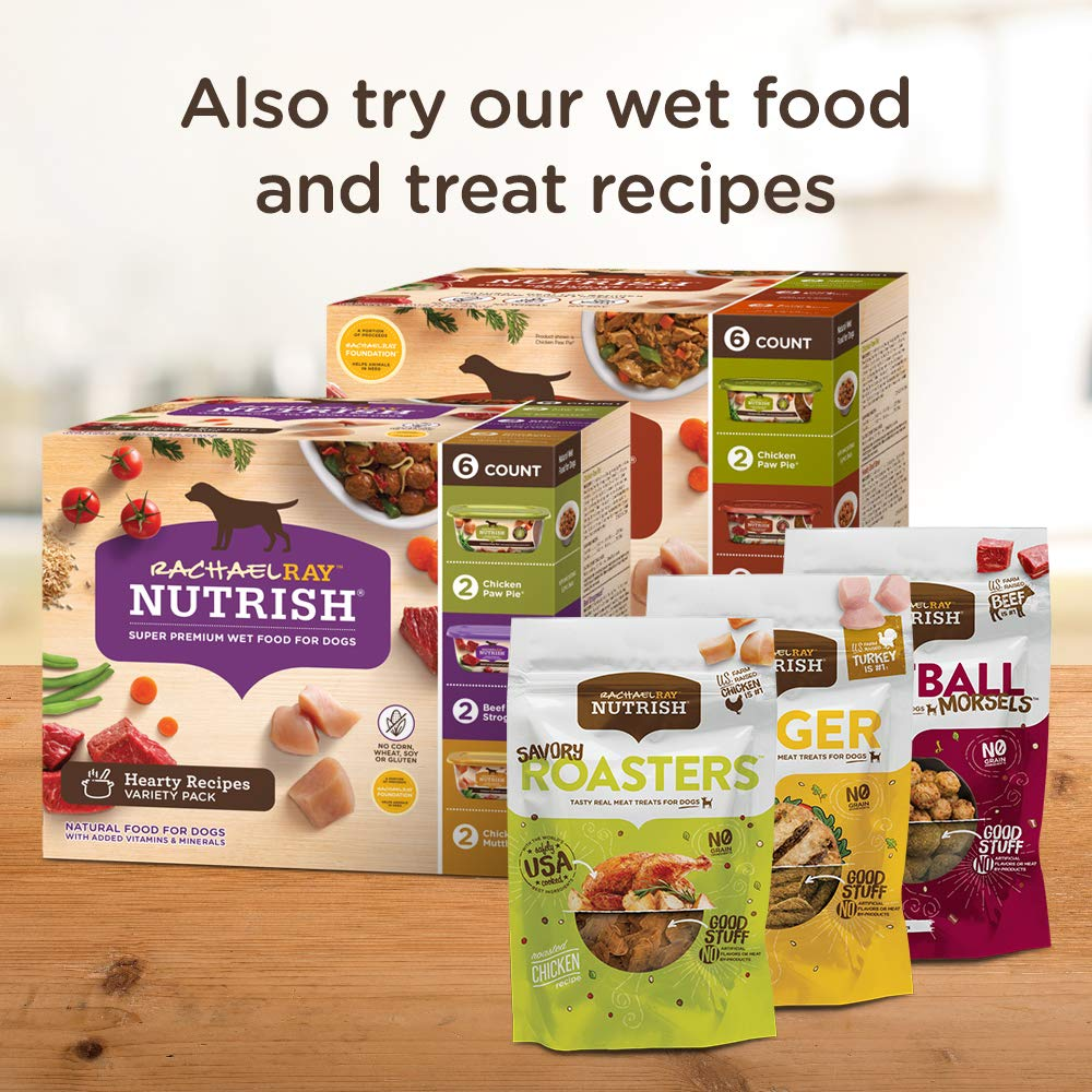 Rachael Ray Nutrish Natural Dry Dog Food, Real Chicken & Veggies Recipe, 28 lbs by Rachael Ray Nutrish (Image #6)