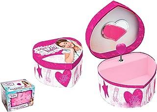 Disney 884050–Violetta–Box a Schmuck–Musikalische Herz MDF