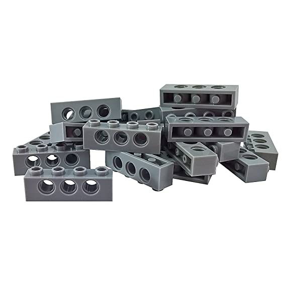 Brick 1x4 Lot of 8 LEGO  Black Technic