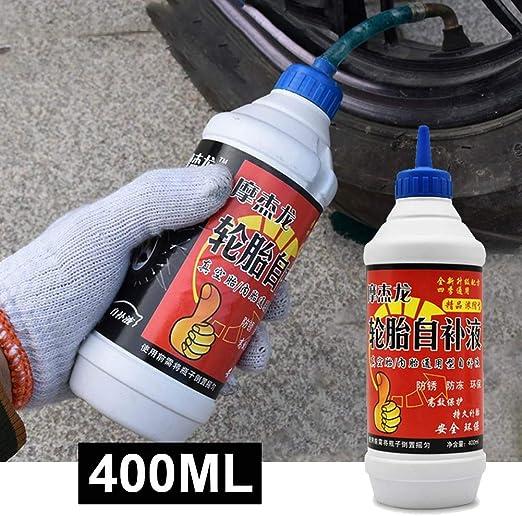 bulrusely - Líquido de neumático de 400 ml, autorehidratación ...