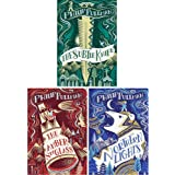 Philip Pullman His dark materials Trilogy 3 books Set Pack (Northern Lights, The Subtle Knife, The Amber Spyglass)(Philip Pullman Collection)
