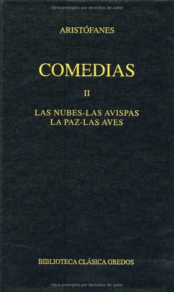 Comedias II (B. BÁSICA GREDOS): Amazon.es: Aristanes, LUIS GIL FERNANDEZ: Libros