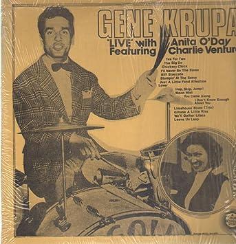 1caa4a385 Live with anita oday featuring charlie ventura music jpg 343x355 Vintage  model anita ventura