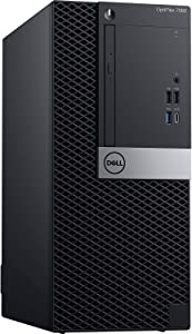 Dell Optiplex 7060 Mini Tower | Intel Quad Core i3-8300 3.7GHz | 4GB DDR4 + 16GB Optane Memory | 500GB HDD | DVD | Windows 10 Pro (Renewed)