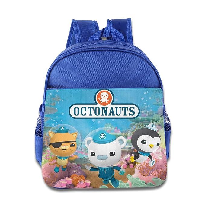 412f8ce2e9 Kids The Octonauts School Backpack Funny Baby Boys Girls School Bag  RoyalBlue