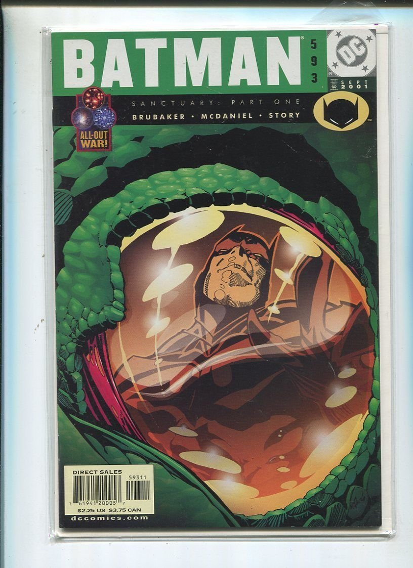 Batman #593 Near Mint CBX 8