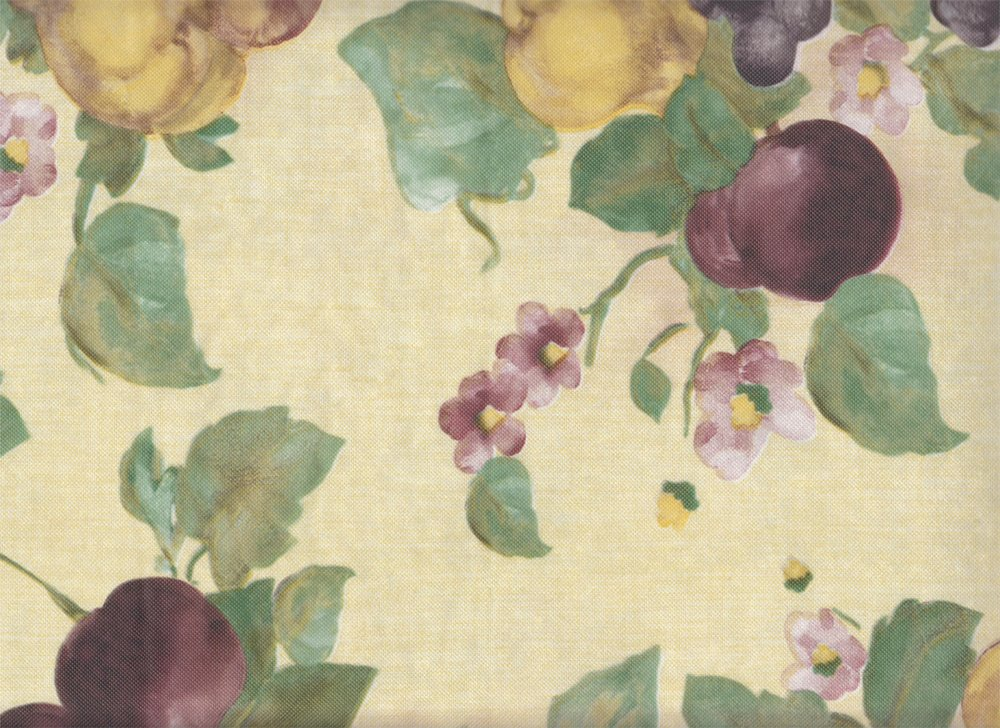 Elrene Home Fashions Fresco Fruit Vinyl Tablecloth 52'' x 70'' Oblong by Everyday Luxuries (Image #2)