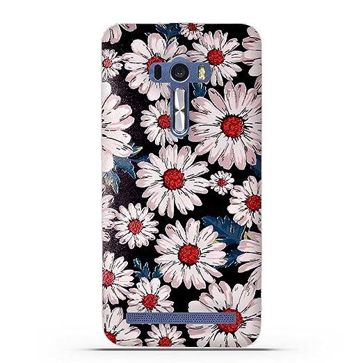 5 opinioni per Asus ZenFone Selfie ZD551KL Cover, Fubaoda Estetico 3D Rilievo UltraSlim TPU
