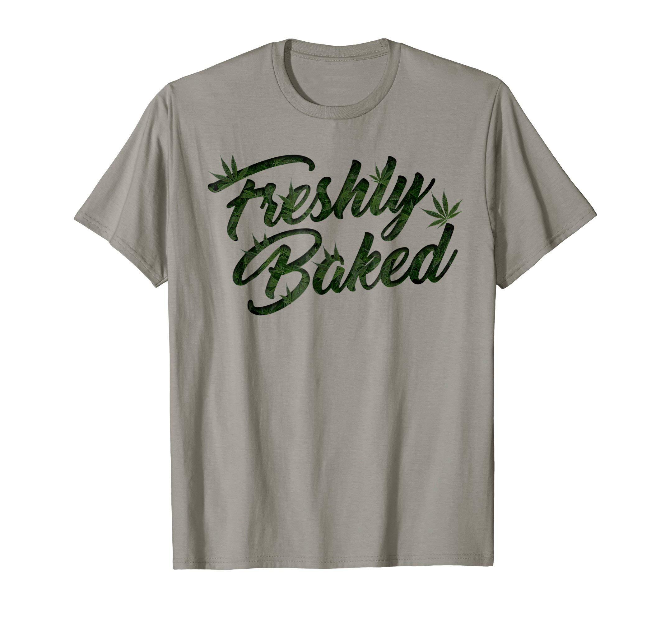 THC Freshly Baked Cannabis Medical Marijuana T-Shirt