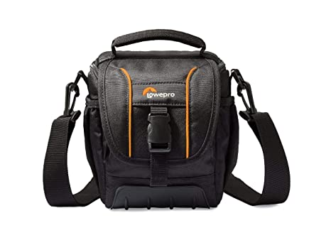 Lowepro Adventura SH 120 II   A Protective and Compact DSLR Shoulder Bag  Black
