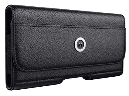 size 40 87901 a897f Meilib iPhone 7 Plus Belt Clip Case, Premium Leather Holster Pouch with  Belt Clip and Loop for Apple iPhone 7 Plus Phone Case w/ID Card Holder  (Fits ...