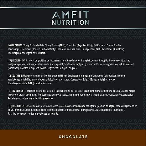 Marca Amazon - Amfit Nutrition Performance Proteína Whey de ...