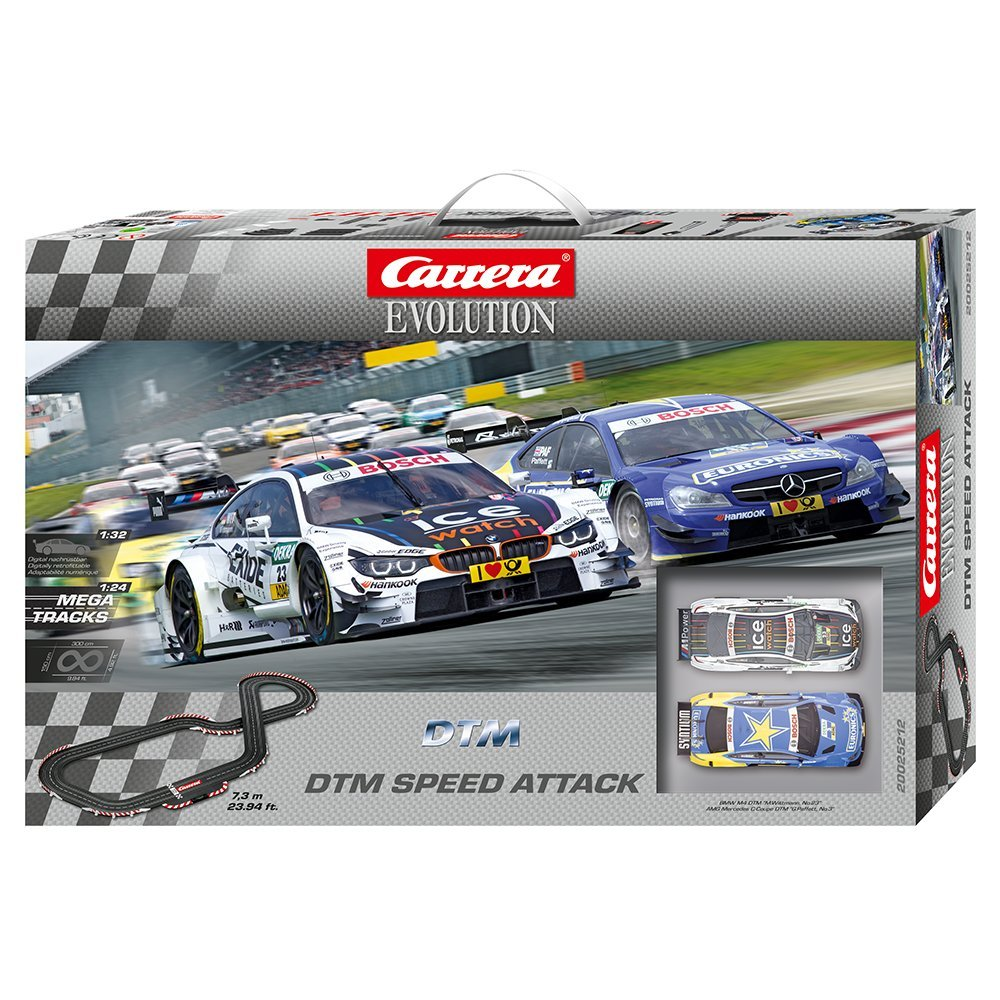 Carrera Evolution DTM Speed Attack Race Set 25212 by Carrera (Image #1)