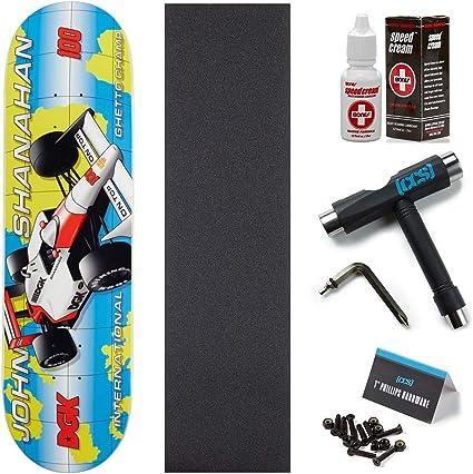 DGK John Shannahan Full Throttle Racing 8.25 Skateboard Deck