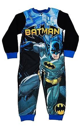 ef74cdceb TDP Character Batman Boys  Fleece  Jumpsuit 100% Polyester 3-8 Years ...
