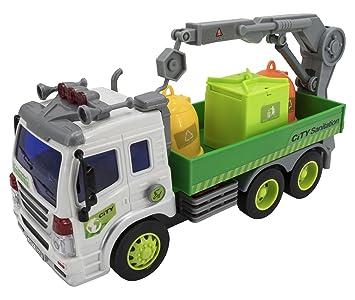 Con Camión Serie Saneamiento Ciudad De Wenyi Sonido n0Nwm8